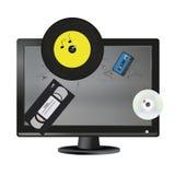 desktop Imagen de archivo libre de regalías