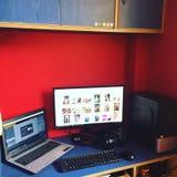 desktop Stock Foto