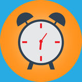 Desktop alarm clock Royalty Free Stock Photography