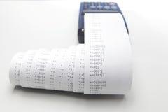 Desktop calculator Royalty Free Stock Image