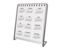 Desktop calendar 2008 Stock Photo