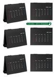 Desktop calendar 2013 isolated Stock Photos