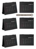 Desktop calendar 2013 isolated Stock Photo