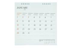Desktop Calendar 2017 Royalty Free Stock Photography