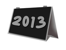 Desktop calendar year 2013 Stock Image
