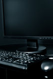 Desktop computer immagini stock