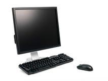 Desktop Computer Stock Photo
