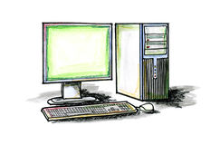 Desktop Computer Royalty Free Stock Image
