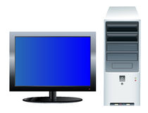 Desktop Computer stock illustration