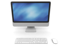 Desktop computer Stock Images