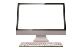 Desktop computer Royalty Free Stock Photo
