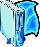 Desktop computer. Illustration Royalty Free Stock Images