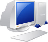 Desktop Computer. Illustration of Desktop computer