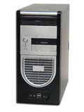 Desktop computer del PC fotografia stock libera da diritti