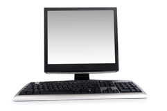 Desktop computer isolated Stock Photo