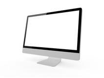 Desktop Computer Screen Royalty Free Stock Photo