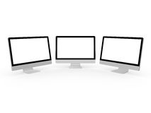 Desktop Computer Screens Stock Photos