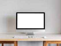 Desktop computer Royalty Free Stock Photography