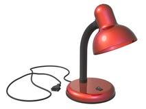 Desktop da lâmpada Foto de Stock Royalty Free