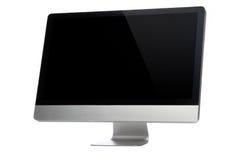 Desktop Display. Desktop computer on a white Royalty Free Stock Photography