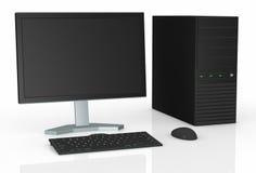Desktop do computador Fotos de Stock