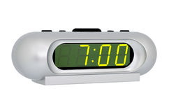 Desktop electronic clock Royalty Free Stock Images
