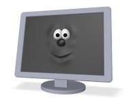Desktop face Stock Photo