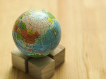 Desktop globe Royalty Free Stock Photos