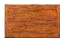 Desktop of Huanghuali wood. Huanghuali wood  is an important and precious material in chinese classical furniture,now,it is even more expensive than ever before Stock Image