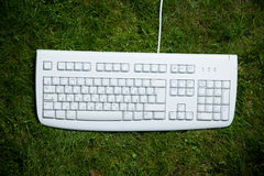 Desktop keyboard Stock Photography