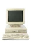 desktop komputerowy Fotografia Stock