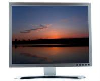 desktop komputerowy ekran obraz stock