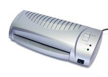 Desktop laminator. Office desktop laminator isolated on white Royalty Free Stock Photos