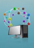 Desktop multimedia Stock Photography