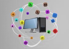 Desktop multimedia Stock Photos