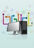 Desktop multimedia Royalty Free Stock Images