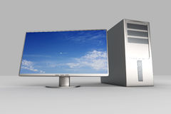 Desktop PC System Royalty Free Stock Image