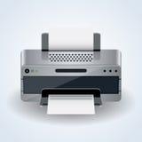 Desktop printer vector icon Royalty Free Stock Photo