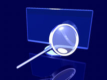 Desktop Search Royalty Free Stock Photos