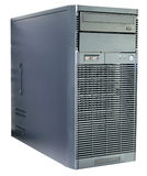 Desktop server isolated Royalty Free Stock Photography