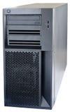 Desktop server isolated on white Royalty Free Stock Photo