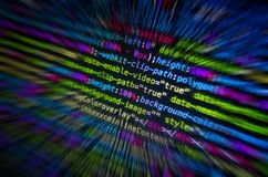Desktop source code and Wallpaper by Computer language with codi. Desktop source code and technology background, Developer or programer with coding and stock photography