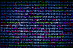 Desktop source code and Wallpaper by Computer language with codi. Desktop source code and technology background, Developer or programer with coding and stock photo