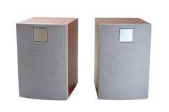 Desktop speakers Royalty Free Stock Image