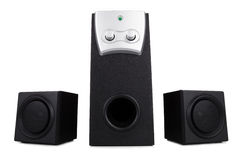 Desktop speakers Stock Photos