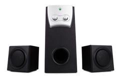 Desktop speakers Stock Photos