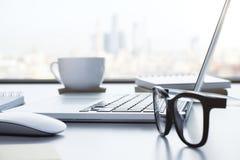 Desktop strona zdjęcie royalty free
