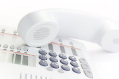 desktop telefon Fotografia Stock