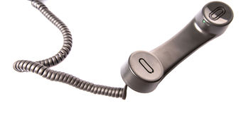 Desktop Telephone Handset III Stock Images