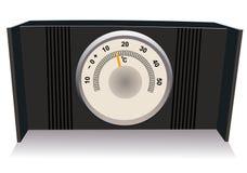 The desktop thermometer Stock Photo